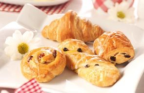 Art. n° 1977, Assortiment mini-viennoiseries, 4 sortes