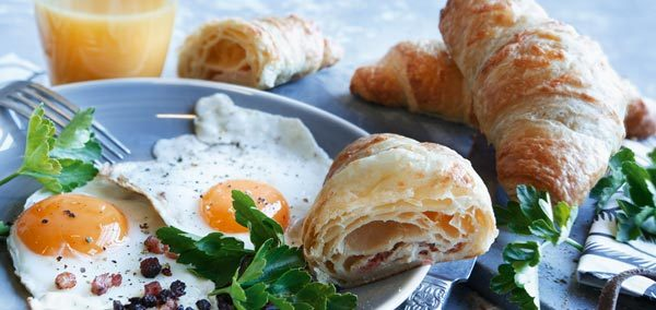Art. n° 4600, Croissant jambon fromage