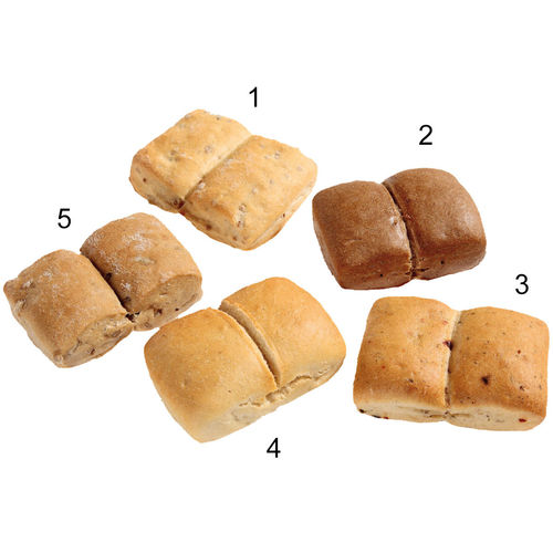 Assortiment mini-pains navettes, 5 sortes