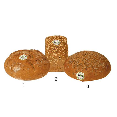 Assortiment de pains Bio**, 3 sortes