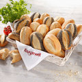 Assortiment de petits pains croustillants, 3 sort.