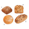 Assortiment** petits pains Bio Fitness