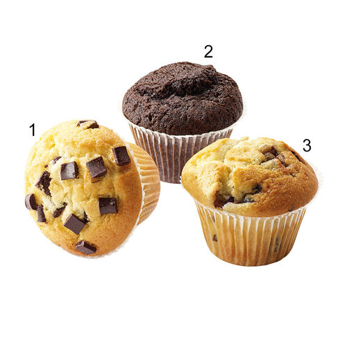 Assortiment muffins, 3 sortes