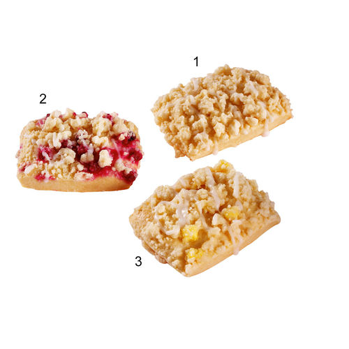 Assortiment minis crumble, 3 sortes
