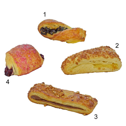 Assortiment de minis viennoiseries danoises Bridor
