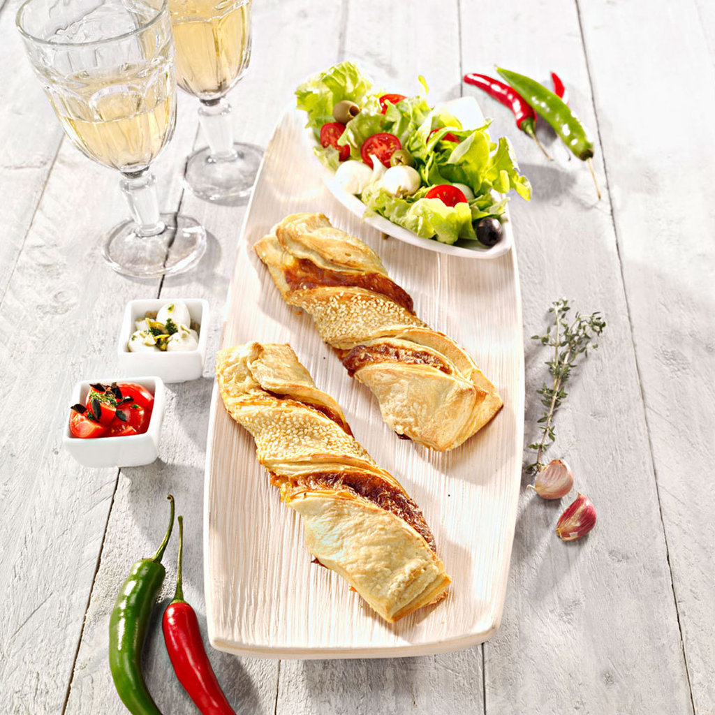 torsade feuillet e jambon fromage commandez en ligne horeca. Black Bedroom Furniture Sets. Home Design Ideas