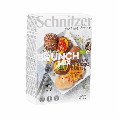 Assortiment Brunch Bio**, sans gluten