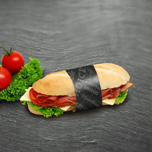 "Bague sandwich ""Blackboard"""