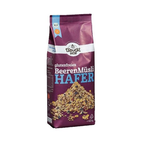 "Muesli Bio** ""Fruits rouges"", sans gluten"