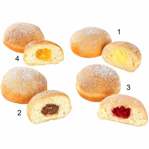 Assortiment mini-beignets, 4 sortes
