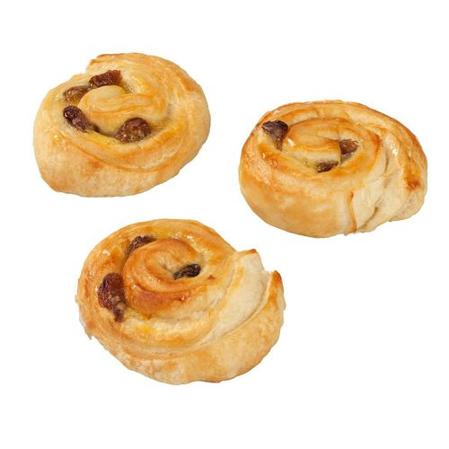 Mini pain au raisin au beurre 24 %