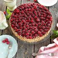 Cheesecake framboise XL