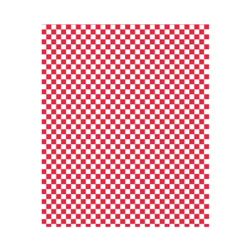 Papier hamburger, rouge/blanc