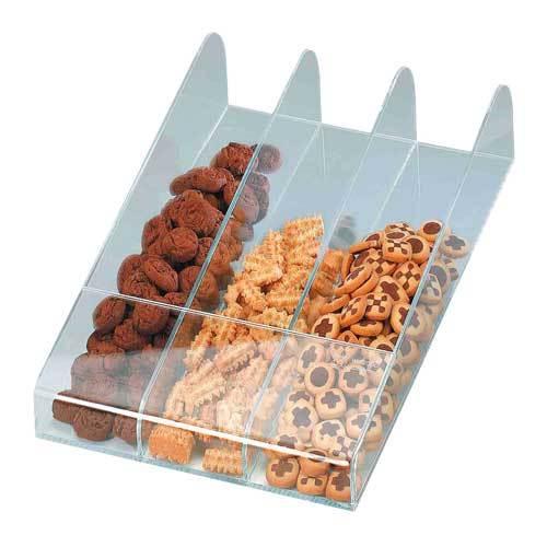 Pr sentoir petits biscuits 3 compartiments commandez en for Equipement pour traiteur